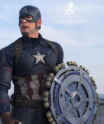 """Vingadores:"""" Capitão América quase teve um escudo como nunca vimos ..."""