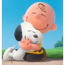 Resultado de imagem para Charlie Brown abraçando snoopy | Snoopy ...